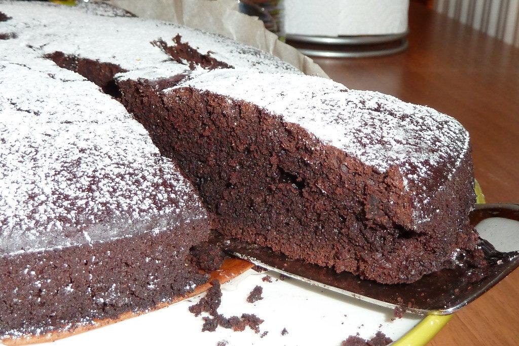 Torta Vegana al Cioccolato speziata