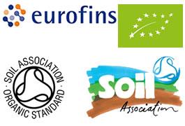 Certificazione Soil e Eurofins