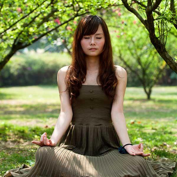 meditando senza fare nulla