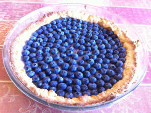 crostata ai mirtilli 300x224