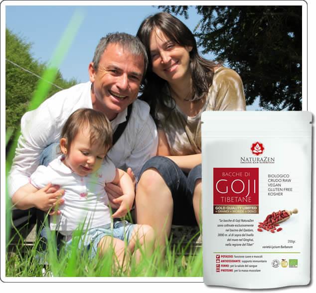Foto famiglia mirco goji semi di chia