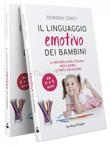 foto del libro il linguaggio emotivo dei bambini