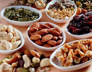vitamina B-frutta secca