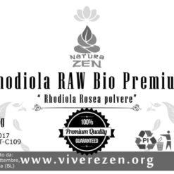 Rhodiola Rosea Powder 125g Label 247x247