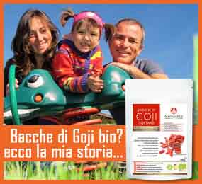 bacche di goji biologiche foto famiglia