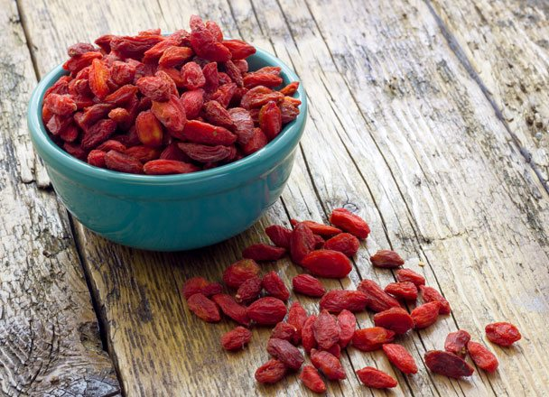 bacche goji antiossidanti
