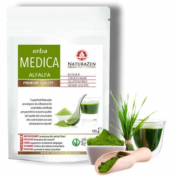 "Alfalfa BIO ""Erba Medica"" polvere 200g"