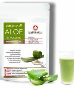 busta 125 grammi naturazen aloe liofilizzato in polvere