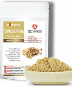 busta 125g aswagandha liofilizzato polvere bio naturazen 247x296