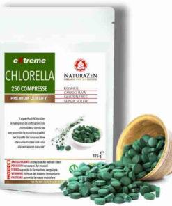 busta 125g chlorella compesse liofilizzata bio naturazen 247x296
