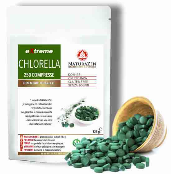 Chlorella Pyrenoidosa BIO 250 compresse