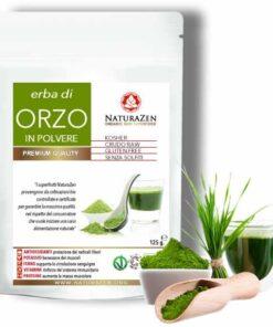 Foto dell'erba di Orzo bio NaturaZen