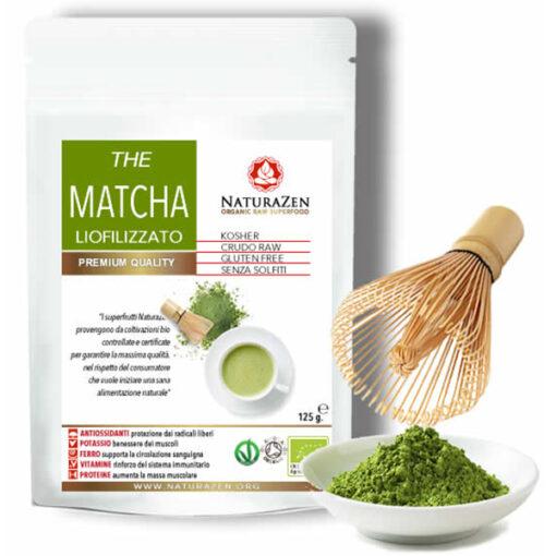 busta 125g the Matcha polvere bio naturazen 510x510