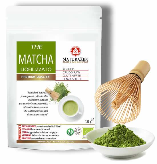 Thé Matcha BIO in polvere 125g