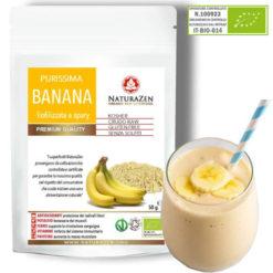 busta 200g banana polvere biologica naturazen 247x247