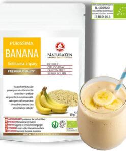 busta 200g banana polvere biologica naturazen 247x296
