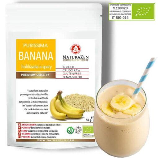 busta 200g banana polvere biologica naturazen 510x510
