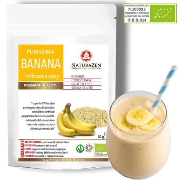 Banana liofilizzata BIO 200g