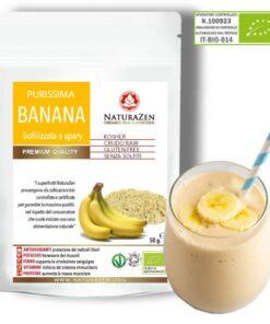 polvere di banana purissima e biologica