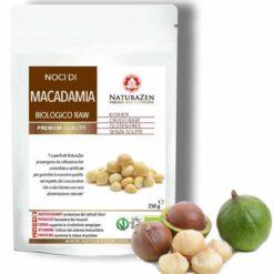 busta 250g Noci Macadamia raw bio naturazen 247x247