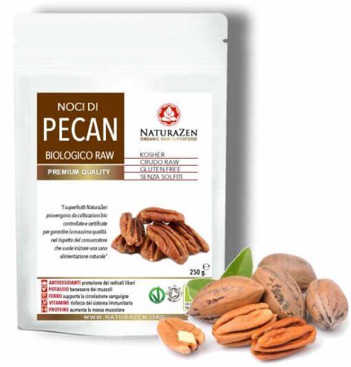busta 250g Noci Pecan raw bio naturazen 510x532