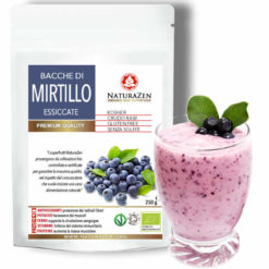 busta 250g bacche mirtillo blu raw biologiche naturazen 247x247