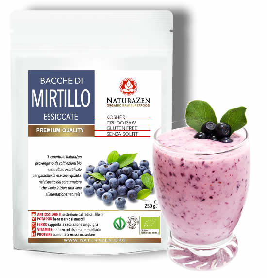 Mirtillo Blu Americano 250g