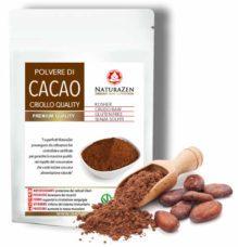 busta cacao criollo polvere 250 grammi biologica naturazen
