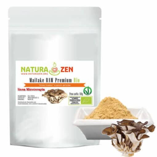 busta 60g Maitake polvere biologica raw naturazen 1 510x510