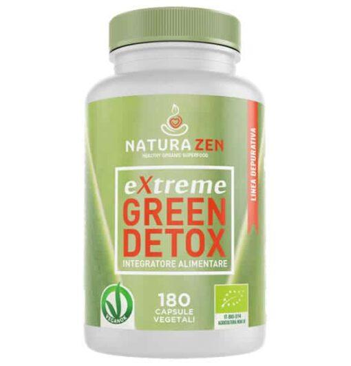 extreme Green Detox l'innovativo integratore per depurare sangue ed organi in modo totalmente naturale