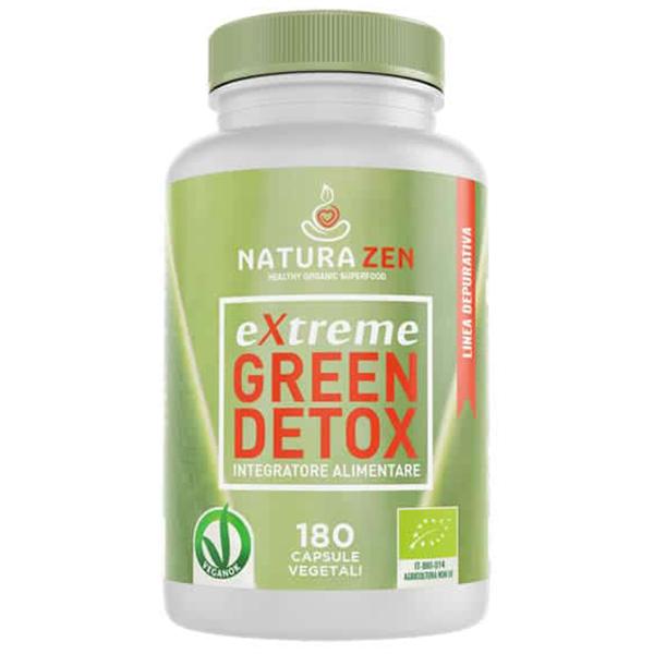 Green Detox 180 capsule Bio