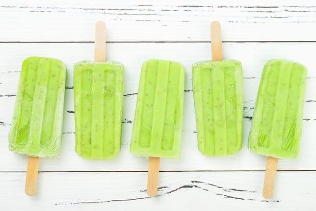 ghiaccioli-té-matcha