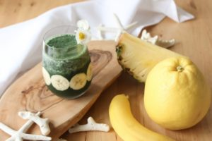 smoothie spirulina banana 300x200