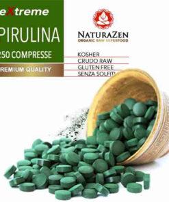 spirulina biologica compresse naturazen 600 247x296