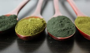 alga spirulina e alga chlorella